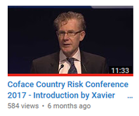 Coface Country Risk Conference 2017 - Introduction by Xavier Durand