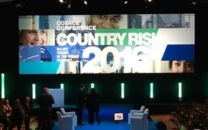 Country Risk Conferences, to review and update country and sector risks around the world